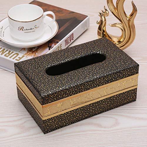 YQCSLS Wohnzimmer Tissue Box wasserdichte Restaurant Tray Carton Paper Box Einfache Home Tray