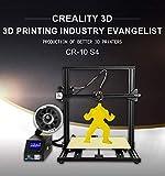 Stampante 3D ufficiale Creality 3D CR-10S4 con autolivellamento e touch screen, rilevatore di filamenti, vite a doppio asse Z, kit di montaggio rapido, dimensioni di stampa 700 * 690 * 610 mm