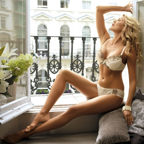 London I als Set: Push-up BH London I + Panty London I | Kinga Lingerie by DORO DI LAURO -
