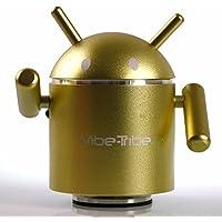 Vibe-Tribe Robô: Vibration Speaker & MP3 player, funzionamento stand-alone grazie a slot SD-card, Radio FM e Telecomando Infrarossi