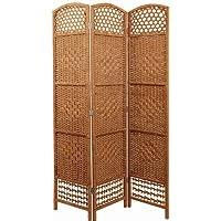 Spetebo Separador de ambientes (Mimbre Natural), Color marrón Claro - Muebles de Dormitorio precios
