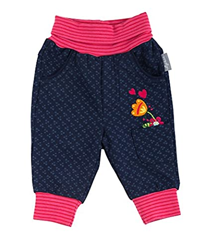 Sigikid Baby-Mädchen Jogginghose Sweathose Blau (Peacoat 260), 92
