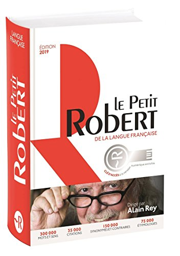Le Petit Robert de la Langue Francaise - edition Bimedia: French monolingual dictionary with online access included (Le Robert Dictionnaires)