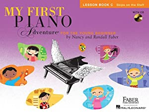 Faber Piano Adventures: My First Piano Adventure - Lesson Book C with Play-Along & Listening CD