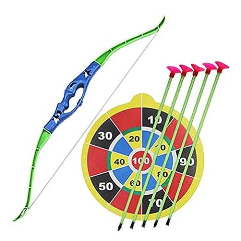 Toy Tir à l'arc arc et la flèche Set pour les enfants avec ventouse Arrows