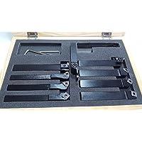 Herramientas de torneado Holzmann 9TLG10 set para torno de metal 9 piezas 10mm
