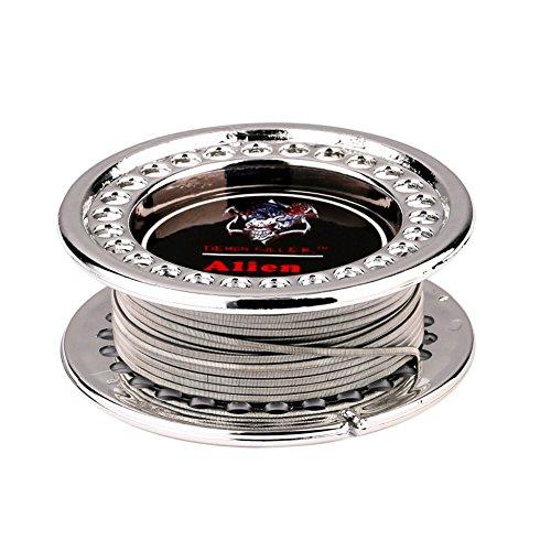 Alien diy Wire Heating Wire Hive Alien Fusing Clapton Flat Twisted Mix Wire Demon Killer (alien V2)