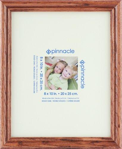 Pinnacle Frames Schreibtischrahmen, Eiche Natur 8x10 Hellbraun