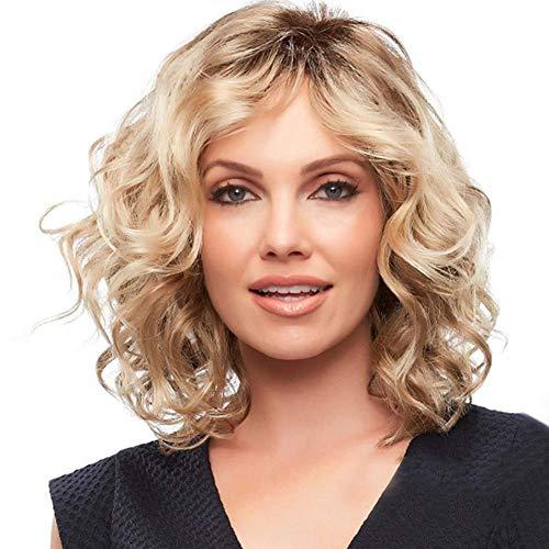 Blonde Lace Front Perücken Wellig Natürliche Volle Dame Curl Lange Perücke Cosplay Party