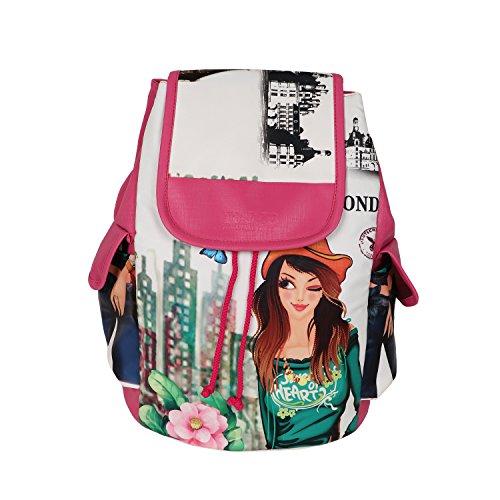 Regalia Women's Backpack (Multicolour, bag135)