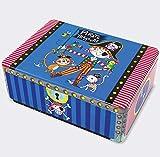 Rachel Ellen Designs - Scatola portaoggetti per Bambini, Motivo: Pirati