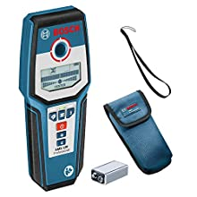 Bosch Professional 0601081000 Stud Finder GMS 120 (Maximum Detection Depth Wood/Magnetic Metal/Non-Magnetic Metal/Live Cable: 38/120/80/50 mm, in Cardboard Box)