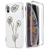 SURITCH Coque pour iPhone XS Max Protection à 360 Degrés Silicone Pleine Protection...