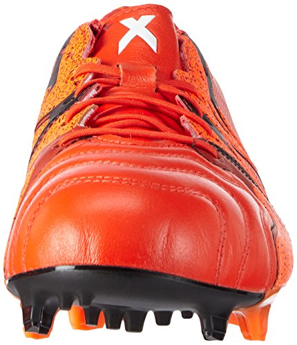 Homme De 1 X15 Fg Ag Leather Rojo Naranja Adidas Football Chaussures 6xxqHIf