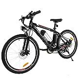 AIMADO Bicicletas Electricas de Montaña, E-bike MTB 250W 25-35 km/h, Aluminio, Batería de...