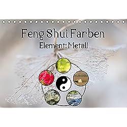 Feng Shui Farben - Element Metall (Tischkalender 2019 DIN A5 quer): Die Farben Weiß, Hellgrau, Silber und auch Gold stehen im Feng Shui für das ... (Monatskalender, 14 Seiten ) (CALVENDO Natur)