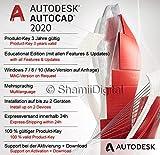 Autodesk AutoCAD 2020 | Digitale Software-Lizenz / 3 Jahre | Windows (nur 64-bit) | Expressversand 24h | inkl. Download-Zugang -