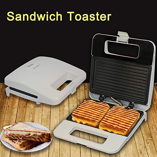 0Miaxudh SOKANY elektrischer Sandwichmaker, 220V Grillplatte Toaster, Küche Frühstück Brotmaschine