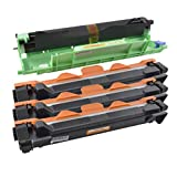3x TONER TN-1050 + TROMMEL DR-1050 für BROTHER DCP-1510, DCP-1510R, DCP-1511, DCP-1512, DCP-1512A, DCP-1512R, DCP-1514, DCP-1518, DCP-1519, DCP-1601, DCP-1610 W, DCP-1612 W, DCP-1616 NW