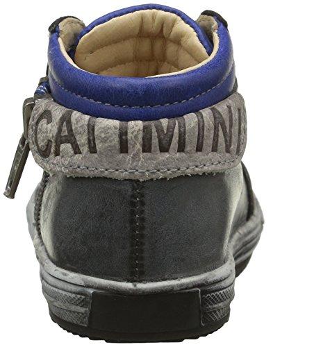 Catimini Albatros, Chaussures Premiers Pas Bébé Garçon Gris (21 Nuv Gris/Bleu Dpf/Omero)