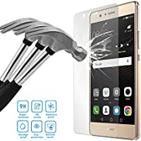 Yiizy Huawei P9 lite ( Huawei G9 Lite) Pellicola Protettiva ultra resistente in vetro temperato Screen Protector Film Temperato di vetro per Vetro con Durezza 9H, Spessore di 0,2 mm,Bordi Arrotondati da 2.5D Shockproof, Trasparenza ad alta Definizione, Facile da Installare