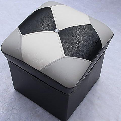 DIDIDD Change chaussures canapé tabouret table de thé tabouret vêtements magasin test chaussure tabouret moderne salon canapé tabouret (couleur en option),D