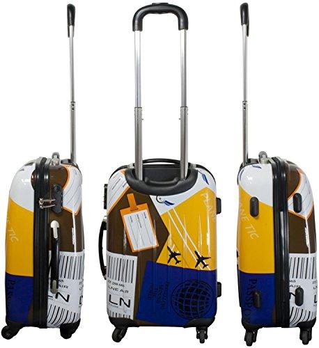 normani ABS Hartschalen Koffer Set Ausführungen Farbe Neapel - 3