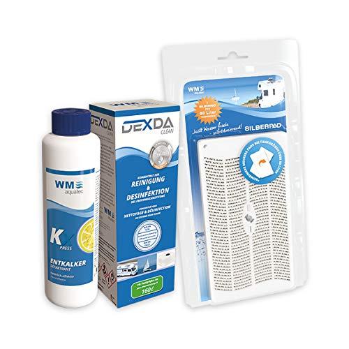 Hygiene-Trio Frischwassertank (bis 80 Liter) inkl. Silberpad zur automatischen Wasserkonservierung