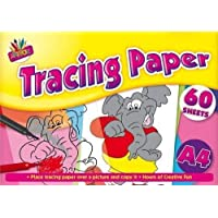 BUY 1 GET 1 FREE A4 TRACING PAPER 60 SHEETS PAD FUN LEARNING SCHOOL OFFICE FUN