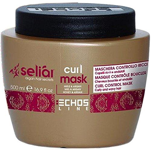 Curl Control Mask with honey and Argan Oil 500 ml Seliar® Masque contrôle bouclés avec Miel et Huile d'Argan