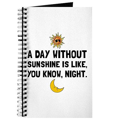 out Sunshine - Spiralgebundenes Tagebuch, persönliches Tagebuch, Tagebuch ()