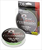 Daiwa Tournament 8 trenza EVO 300 M Chartreuse - hilo de pesca Talla:Dm: 0,14mm