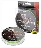 Daiwa Tournament 8 Braid EVO 0.14mm, 10,2kg/22,4lbs 135m chartreuse