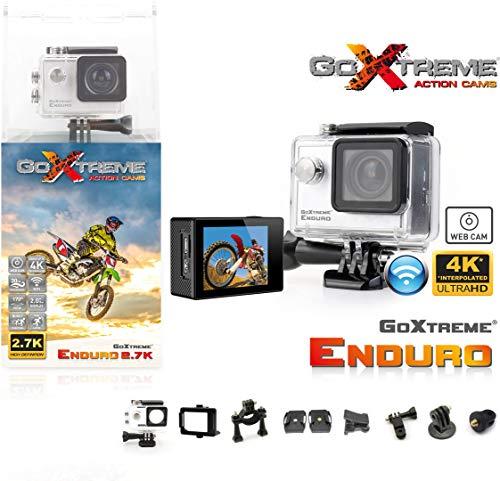 GoXtreme Enduro-Action-Cam (2.7K, Weitwinkel 170°, microSD), schwarz