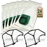 24 Staubsaugerbeutel Filtertüten und Filter passend für Vorwerk Kobold VK 140 VK 150