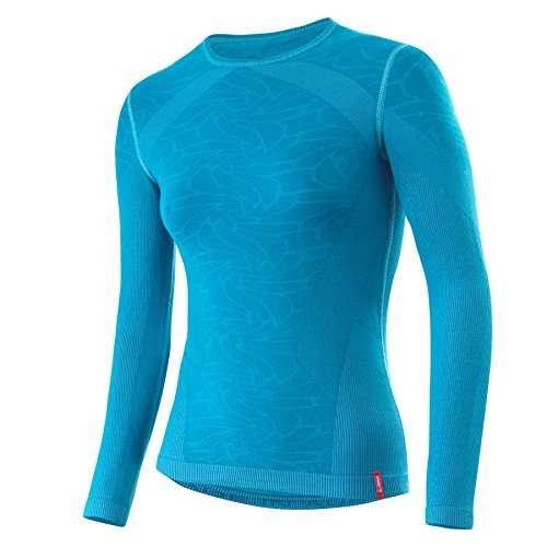 Löffler Shirt Transtex Warm Seamless LS Women - laguna (Langarm Laguna)