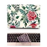 L2W Coque MacBook Air Occasion Prix Laptop Ordinateur Case Plastique Coque Rigide Housse pour Apple MacBook Air 13 pouces [Modèle:A1369/A1466] Incluant Transparent couvercle du clavier,Rose