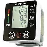BROADCARE Tensiomètre Electronique au Poignet Tensiomètre Automatique de Grande Précision Tensiomètre Numérique