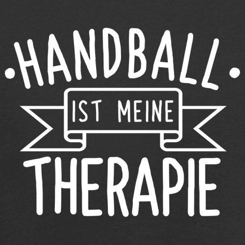 Handball ist meine Therapie - Herren T-Shirt - 13 Farben Schwarz