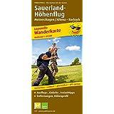 Sauerland Höhenflug, Meinerzhagen / Altena - Korbach: Leporello Wanderkarte mit Ausflugszielen, Einkehr- & Freizeittipps, wetterfest, reissfest, abwischbar, GPS-genau. 1:25000
