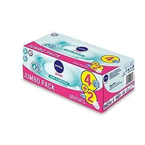 Nivea Baby Lingettes Pure et Sensitive X 50 - Lot de 4+2