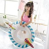 Baby Aufblasbarer Einhorn , GINKAGO Kinder Schwimmring Badespielzeug Pool Floß Schwimmen Spielzeug , 90*60*60cm