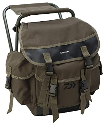 Daiwa Game Ruck Stool**Rucksack + Seat**Trout Salmon Game Coarse Fly Fishing Chair Bag Luggage Holdall Folding Seat Lightweight from Daiwa