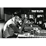 Tom Waits - Black & White Poster - 60x90cm