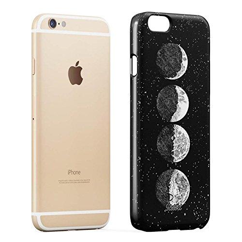 Glitbit Moon Phases Eclipse Stars Cosmos Galaxy Universe Cosmic Lunar Luna Tumblr Sottile Guscio Resistente In Plastica Dura Custodia Protettiva Per iPhone 7 Plus / 8 Plus Case Cover Moon Phases Eclipse