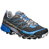 La Sportiva Akyra Woman, Zapatillas de Trail Running para Mujer, Multicolor (Carbon/Cobalt Blue 000), 41 EU