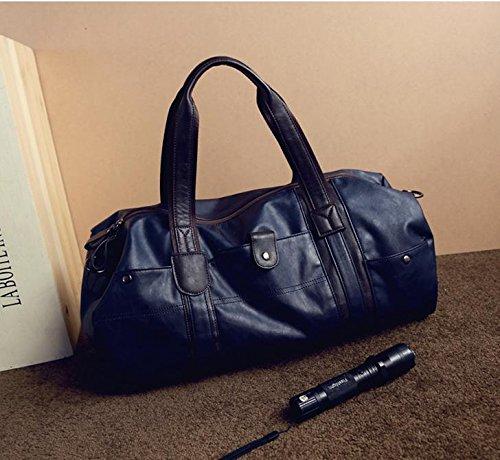 RTZLL Schulter Tasche Mannes tragbares Fitness-Studio Tasche Messenger Tasche Zylinder ausgebildete Paket Business Travel Reisetasche 3