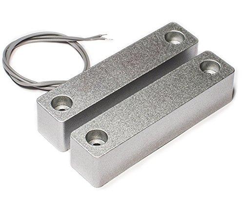 Draht Eisen Magnetic Sensor Kontakt ca-58q/Ideal für Metall Tür/Fenster Brinks Security Alarm