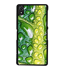 printtech Leaf Drops Back Case Cover for Sony Xperia Z2 , Sony Xperia Z2 L50W D6502 D6503