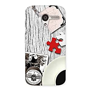 Stylish Vintage Style Multicolor Back Case Cover for Moto X